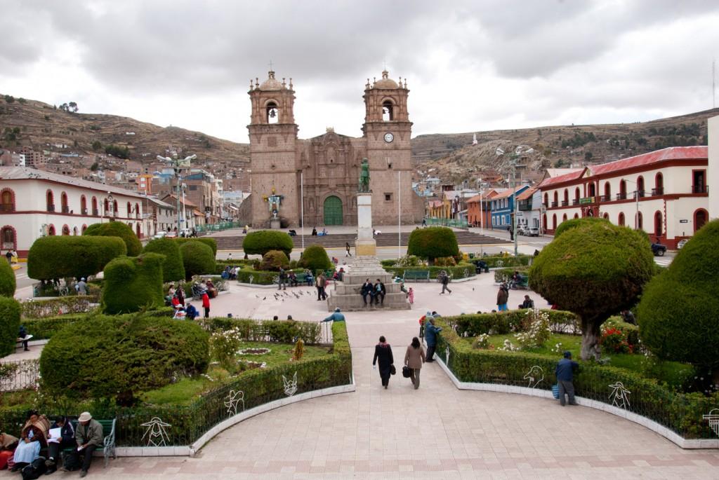 Catedral y Plaza de Armas de Puno Foto: Flor Ruiz