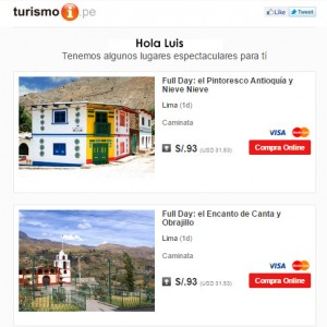 Email Marketing Turismo