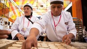 Feria Gastronómica Mistura - Elaboración de panes