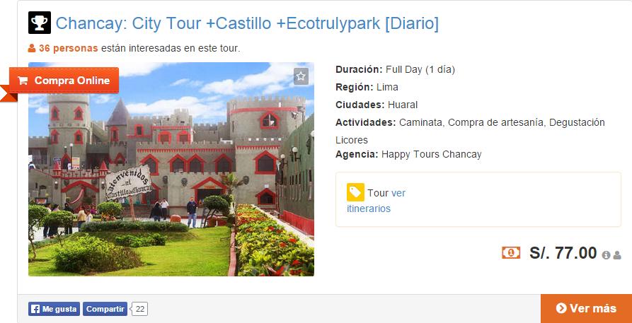 Tour Compra Online