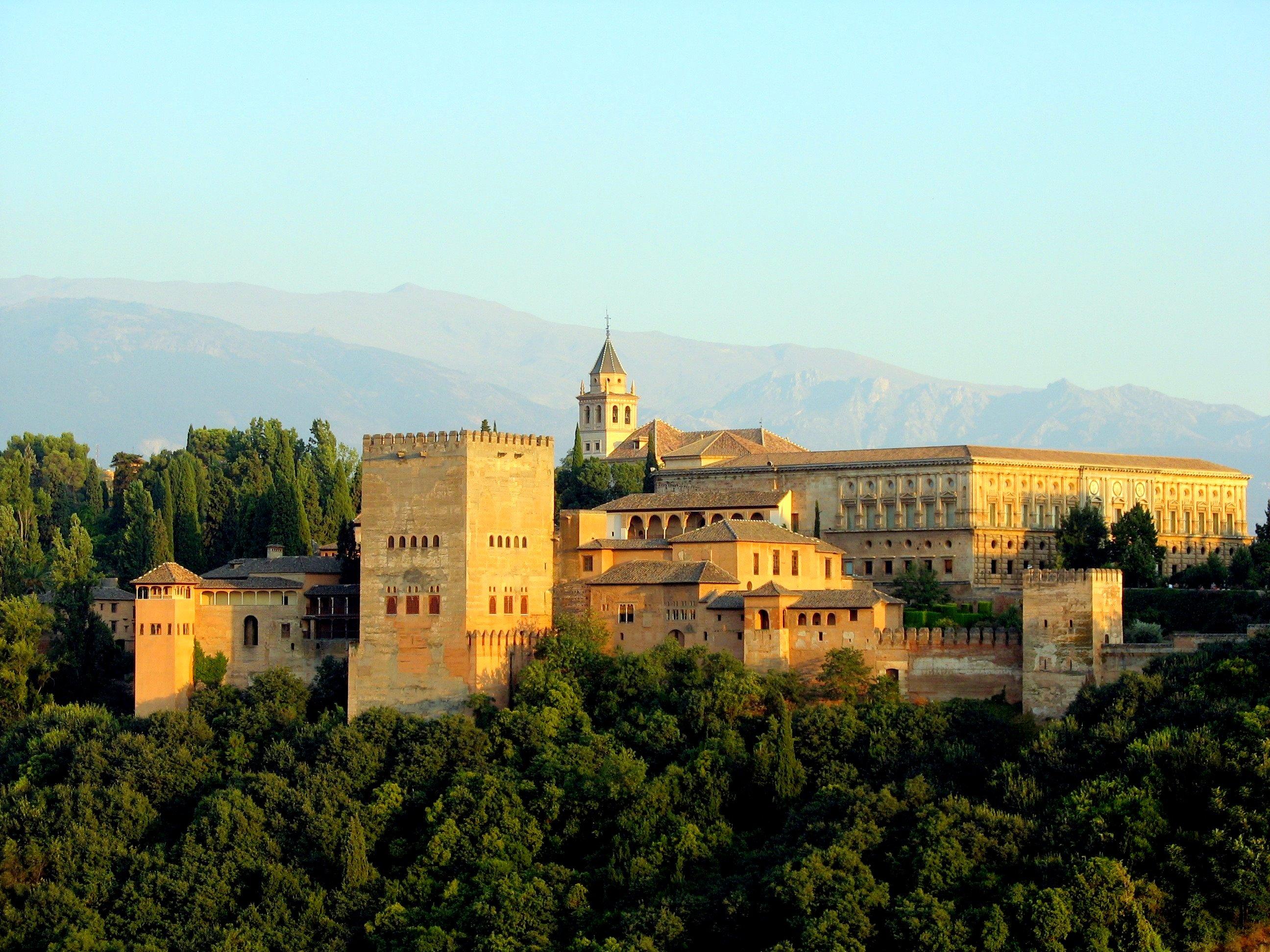 La Alhambra de Granada, Andalucía.