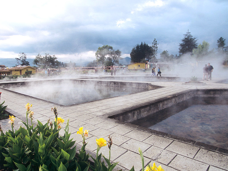 Cajamarca: Baños de los Incas