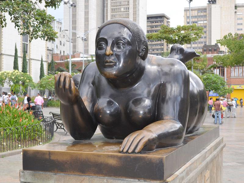 Medellín: Plaza Botero