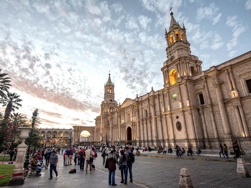 Plaza de Armas arequipeña